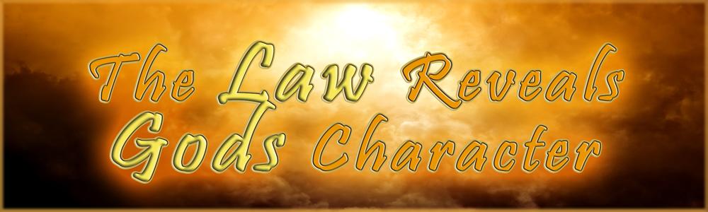 God's Character revealed