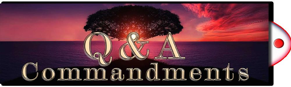 Q&A Commandments
